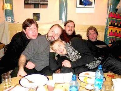 А.Харитонов, В. Кунц, А. Котович, А. Драйвер, В. Серафимов