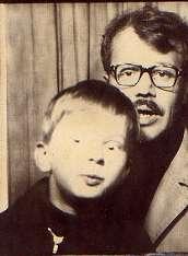 Илюша с папой. 23 сентября 1978 года
