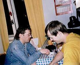 На кухне Кирилла Комарова