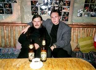 Александр Сумкин и Владимир Кухаришин после записи