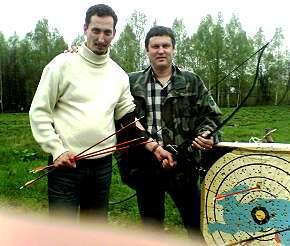 Владимир Шамов и Чёрный Лукич. Стрельба из лука по попсе