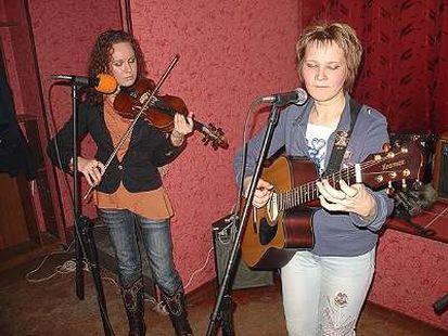 Татьяна Ямбердова и Лариса Шунина