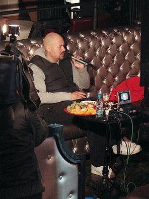 Фёдор Бондарчук снимает клип
