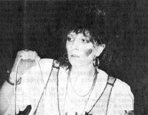 Инна ГЛЭМ, солистка группы «Примадонна».