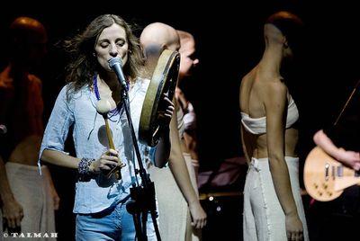 Ольга Арефьева и КОВЧЕГ. Концерт в ЦДХ 21.09.2008