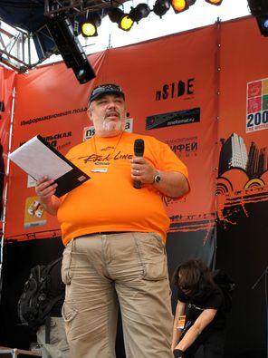 Гоша Гиндис - ведущий фестиваля