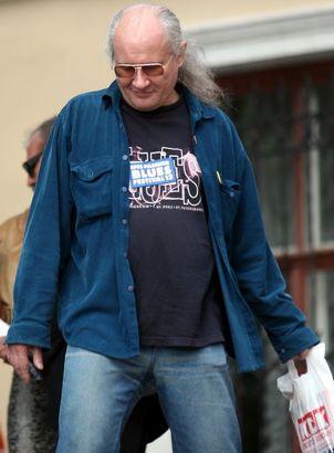 Андрей Бурлака на блюзовом фестивале ''Дельта Невы-2007''