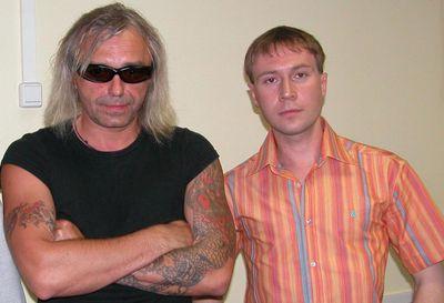 Константин Кинчев и Дмитрий Ошеров