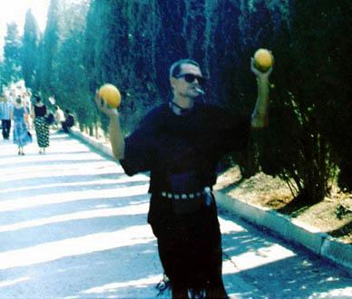 Олди, Судак, сентябрь 1998. Фото: Фил